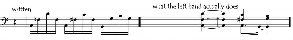 antic artic broken chords