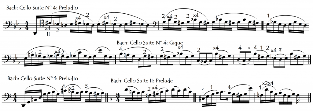 bach excerpts