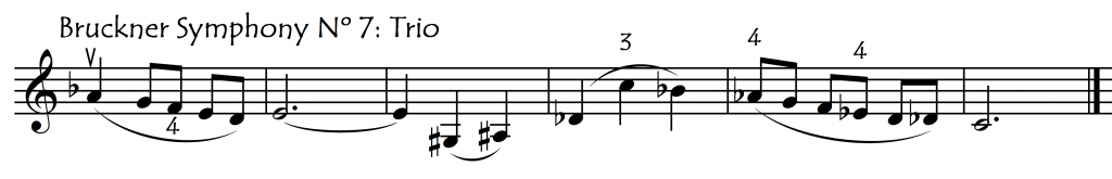 maj 7th Bruckner