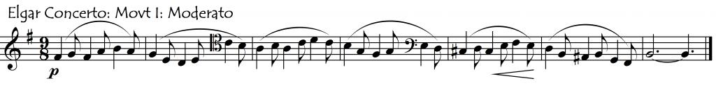 elgar theme 1