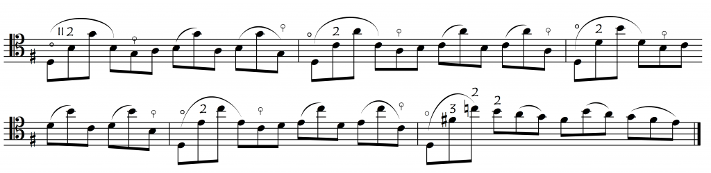 bach 6 prel no thumb passage
