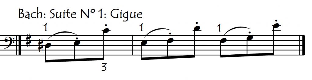 bach gigue 1