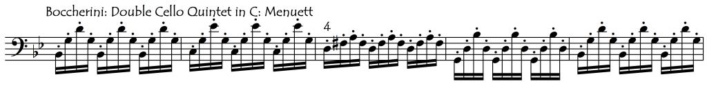 regular broken chords