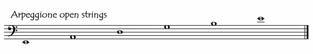 arpeggione tuning 1