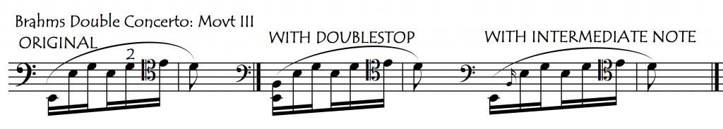 brahms dble int notes