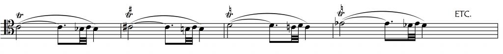2-4 tone with tone turn excs