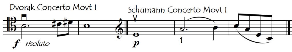 dvorak schumann concs