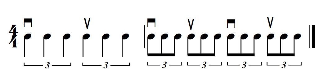 reverse triplet 44