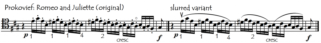 prokofiev romeo juliette