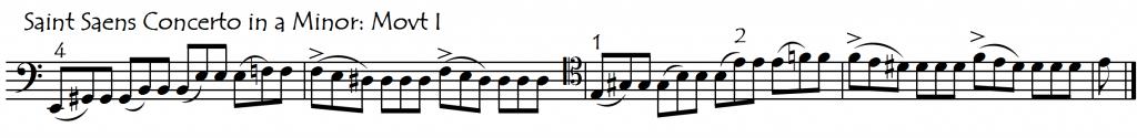 saintsaens assymmetry