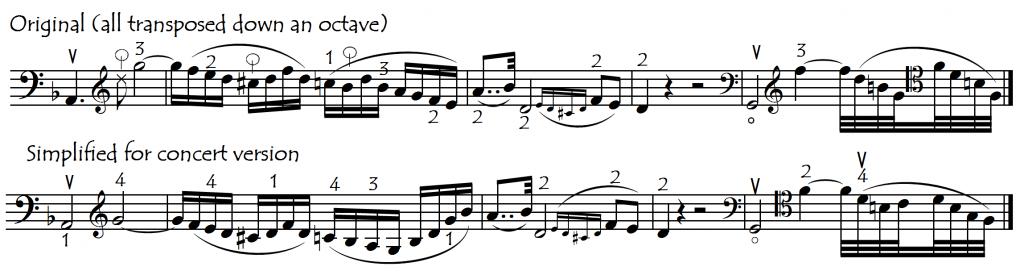 notes trans Beet Op 50