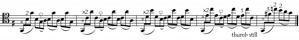 bach VI prelude thumb passage modified