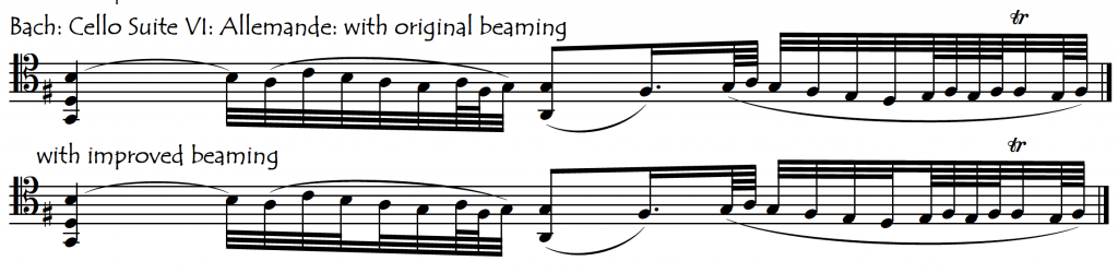 bach subbeam divisions