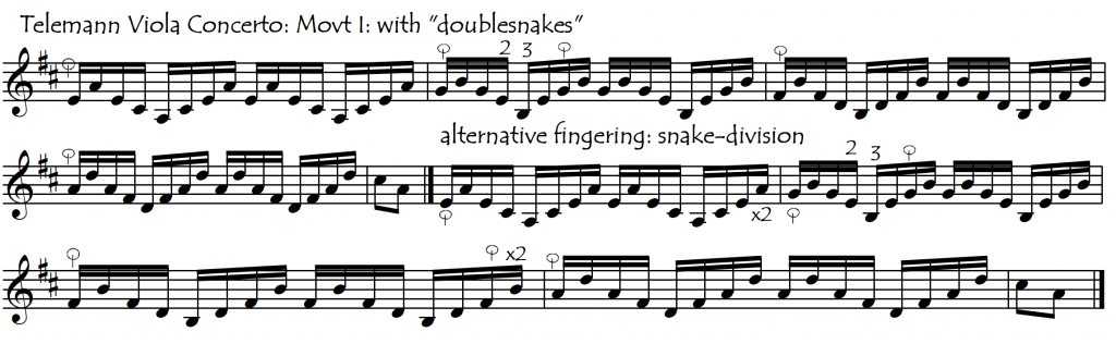 telemann snakedivision