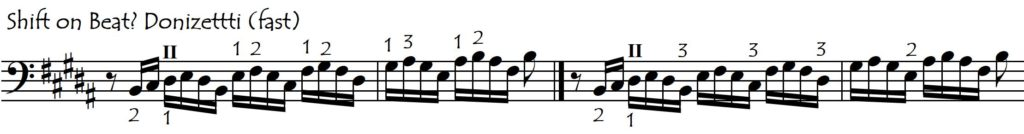 donizetti shift beat or