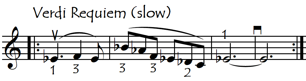 Verdi req artic or gliss