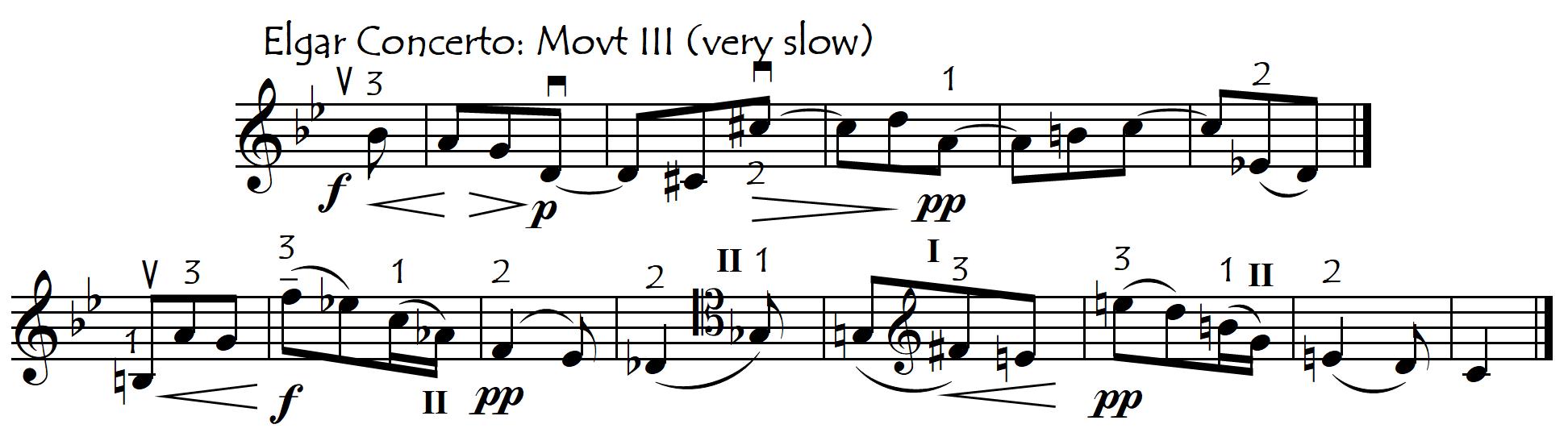 elgar soaring melody