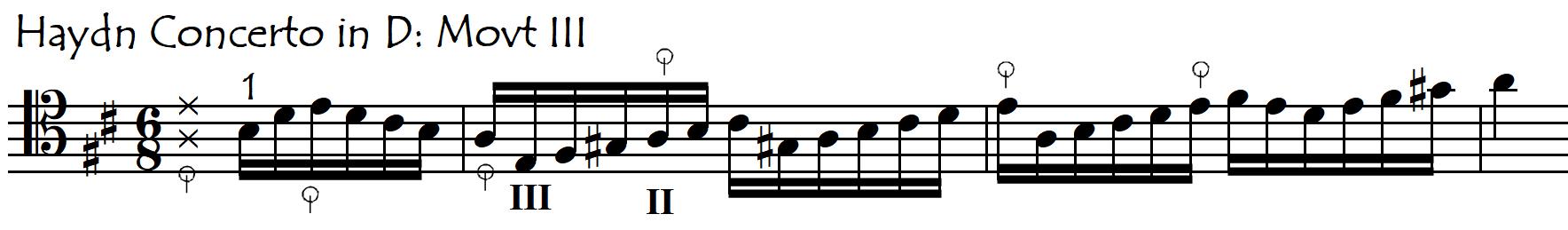 haydn D III