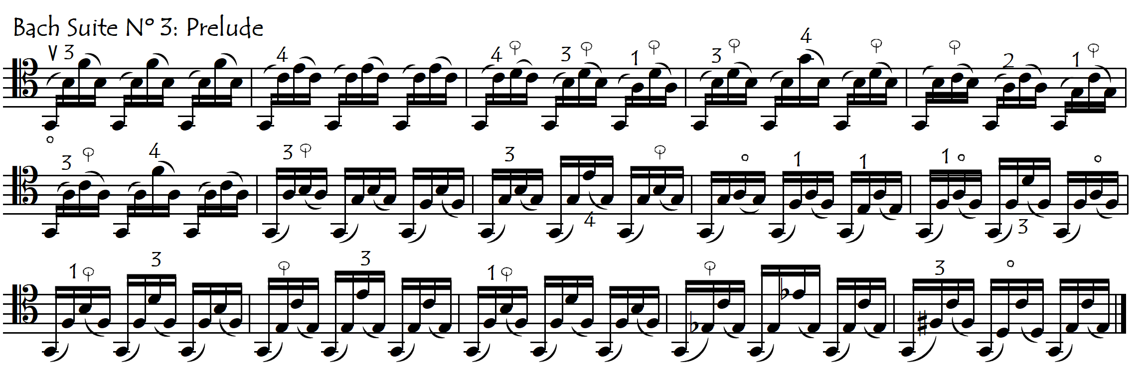 bach P3 thumb pos in neck