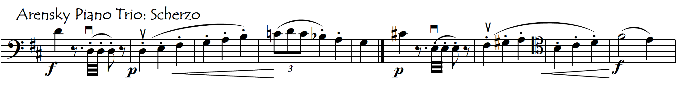 arensky vertical