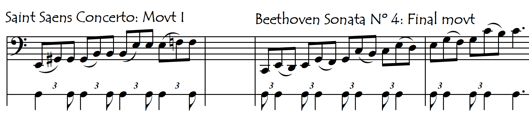 dotted from melody bowing 1