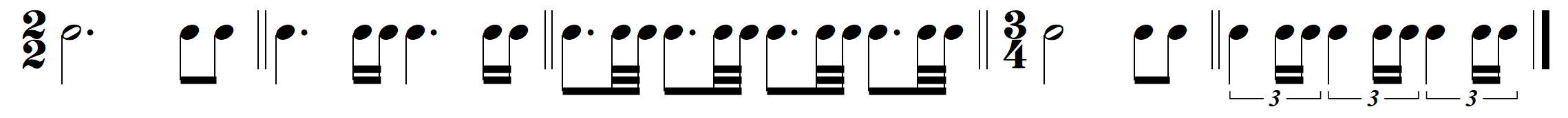 dotteds with subdiv of short note