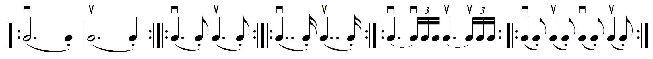 hooked basic rhythms