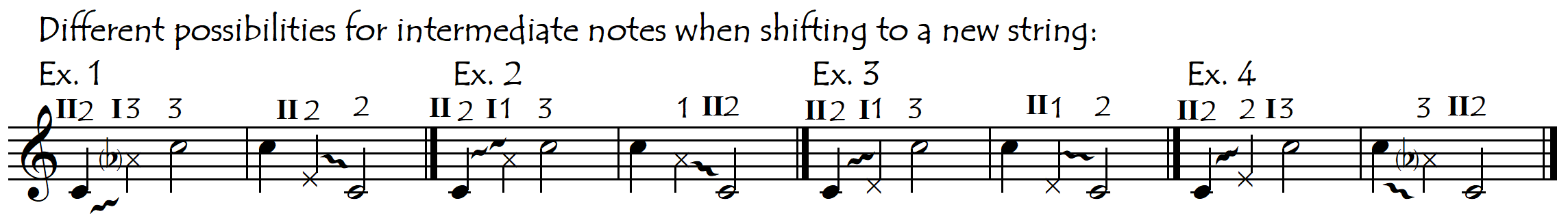 int notes to new string NEW